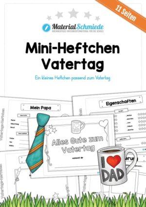 Mini-Heftchen zum Vatertag