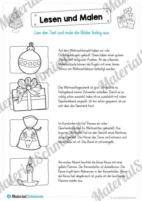 Lesen & Malen zu Weihnachten (Vorschau 02)