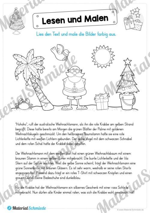 Lesen & Malen zu Weihnachten (Vorschau 04)