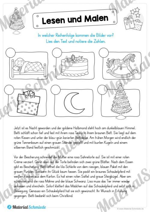 Lesen & Malen zu Weihnachten (Vorschau 07)