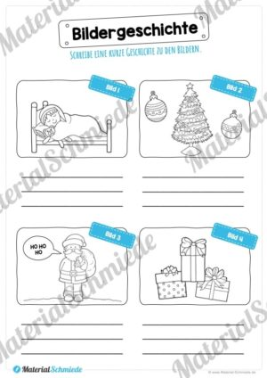Bildergeschichte Weihnachten