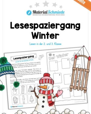 Lesespaziergang Winter
