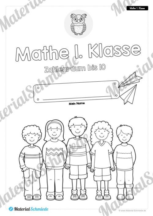20 Mathe Übungen 1. Klasse (Deckblatt)