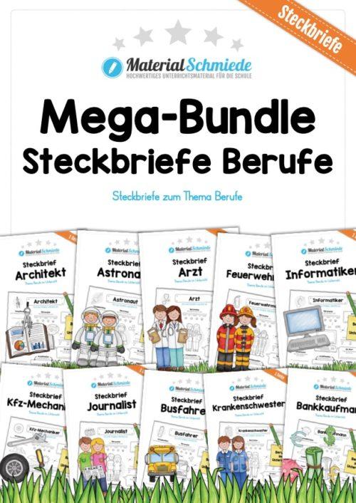 Mega-Bundle: Steckbriefe Berufe