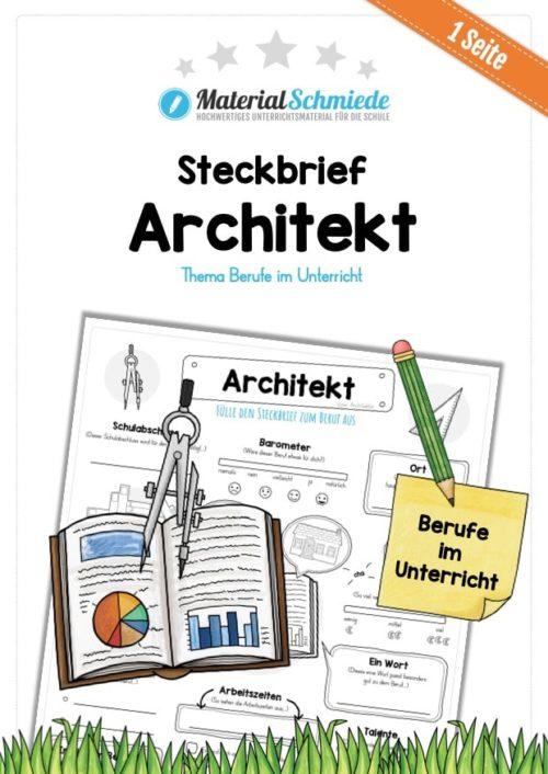 Steckbrief Architekt