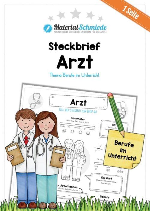 Steckbrief Arzt