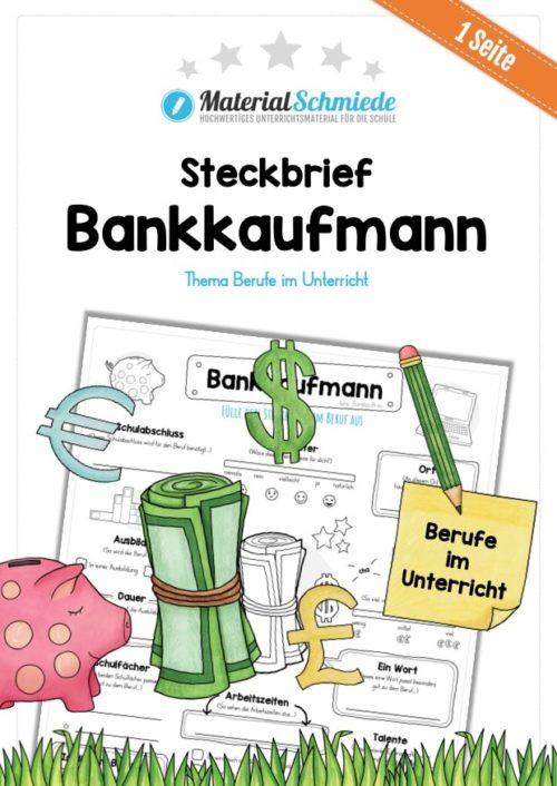 Steckbrief Bankkaufmann