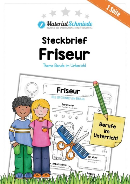 Steckbrief Friseur