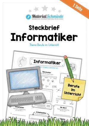 Steckbrief Informatiker
