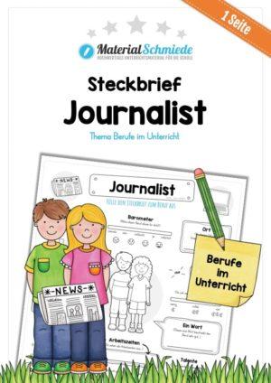 Steckbrief Journalist