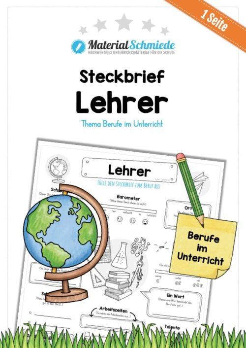Steckbrief Beruf: Lehrer