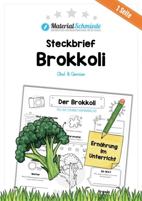 Steckbrief Brokkoli