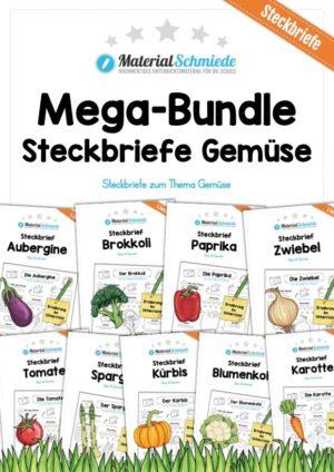Mega-Bundle: Steckbriefe Gemüse