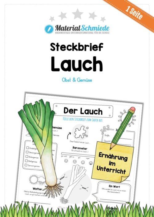 Steckbrief Lauch