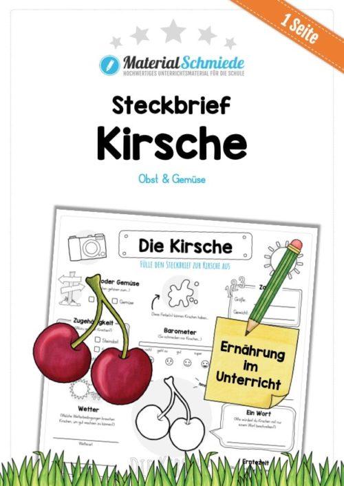 Steckbrief Kirsche