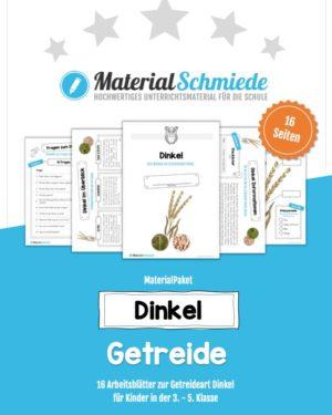 MaterialPaket: Getreide Dinkel