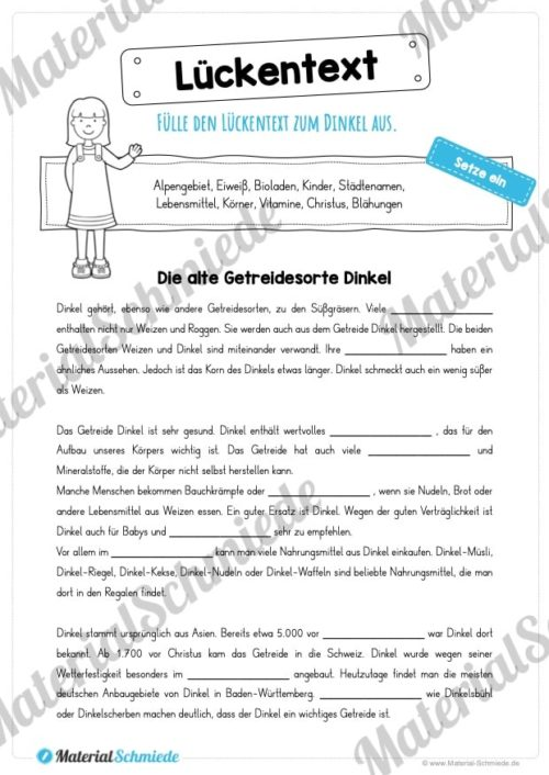 MaterialPaket: Getreide Dinkel (Vorschau 09)