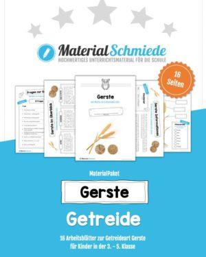 MaterialPaket: Getreide Gerste