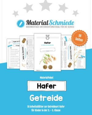 MaterialPaket: Getreide Hafer
