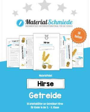 MaterialPaket: Getreide Hirse