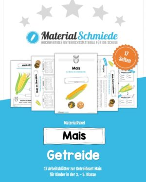 MaterialPaket: Getreide Mais