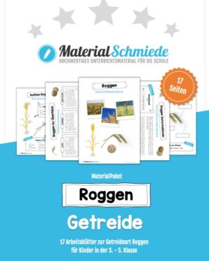 MaterialPaket: Getreide Roggen