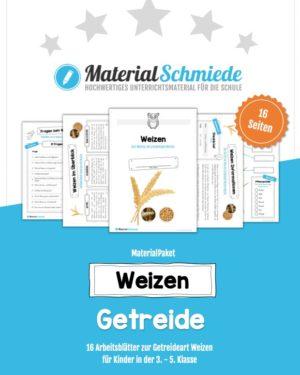 MaterialPaket: Getreide Weizen