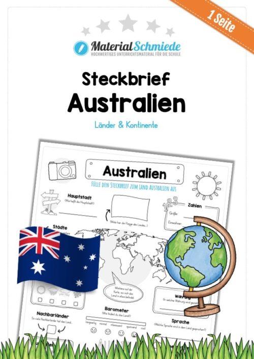 Steckbrief Australien