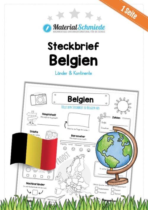 Steckbrief Belgien