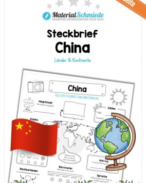 Steckbrief China