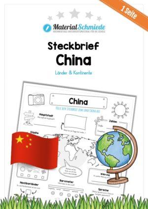 Steckbrief China