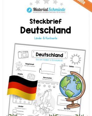 Steckbrief Deutschland