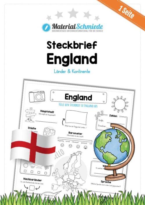 Steckbrief England