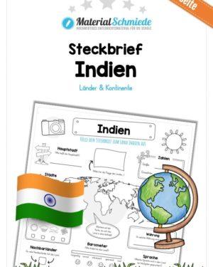Steckbrief Indien