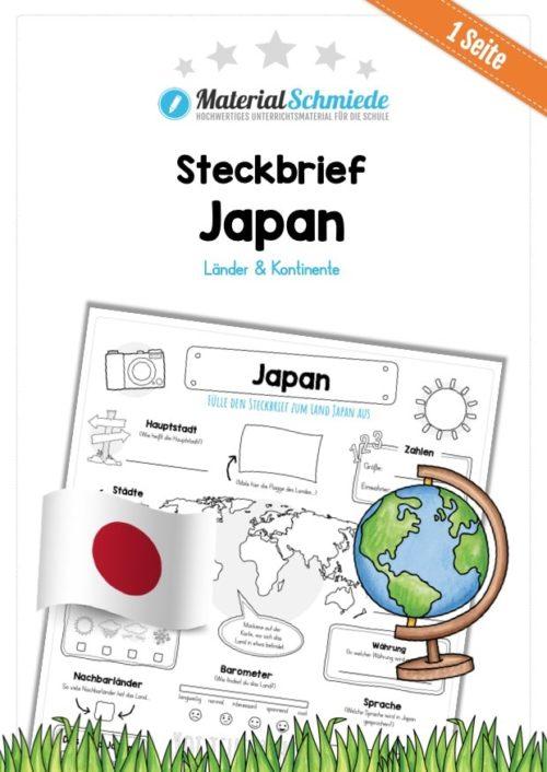 Steckbrief Japan