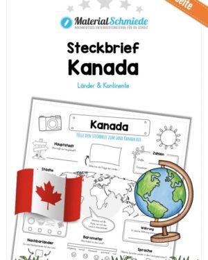 Steckbrief Kanada