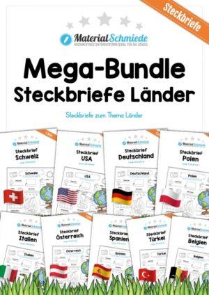 Mega-Bundle: Steckbriefe Länder