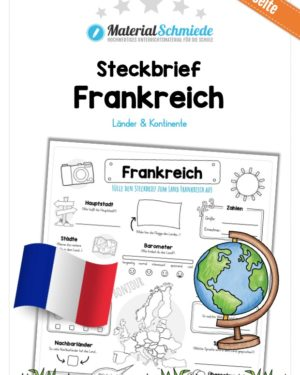 Steckbrief Frankreich