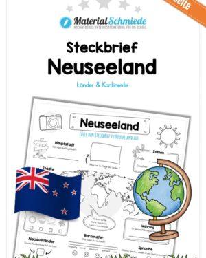 Steckbrief Neuseeland