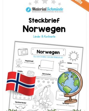 Steckbrief Norwegen