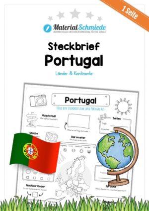 Steckbrief Portugal