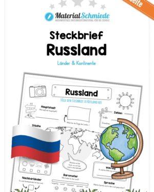 Steckbrief Russland