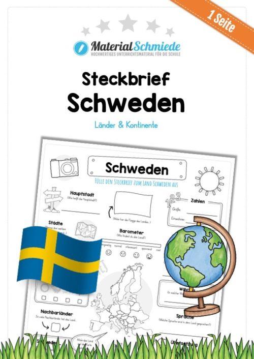 Steckbrief Schweden