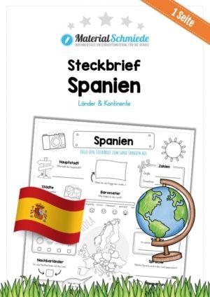 Steckbrief Spanien