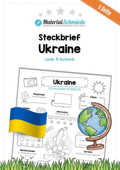 Steckbrief Ukraine