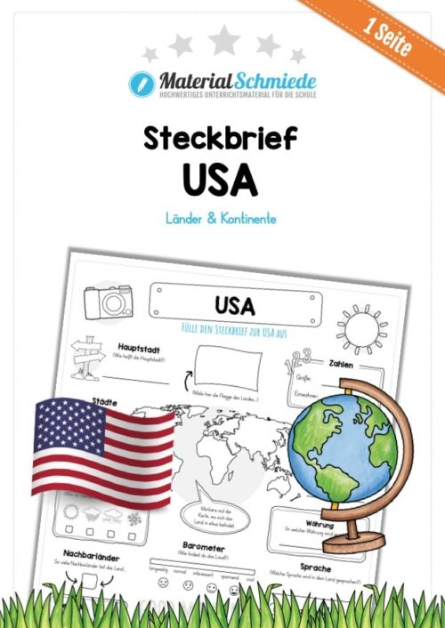 Steckbrief USA