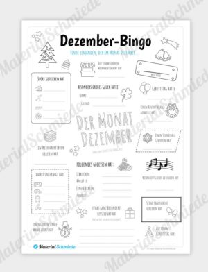 Dezember Bingo