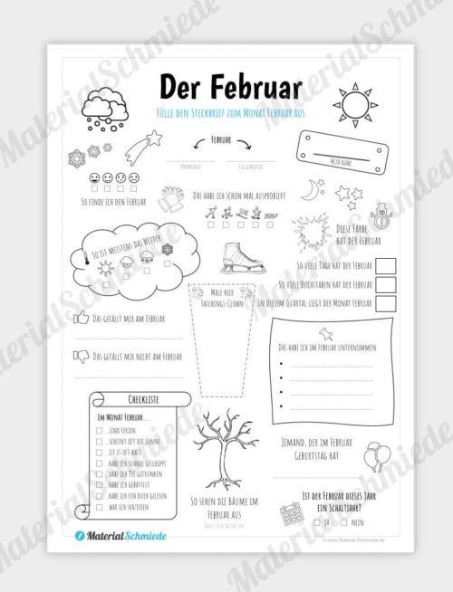 Februar Steckbrief
