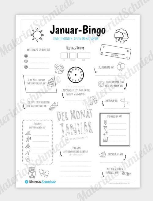 Januar Bingo