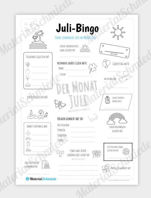 Juli Bingo